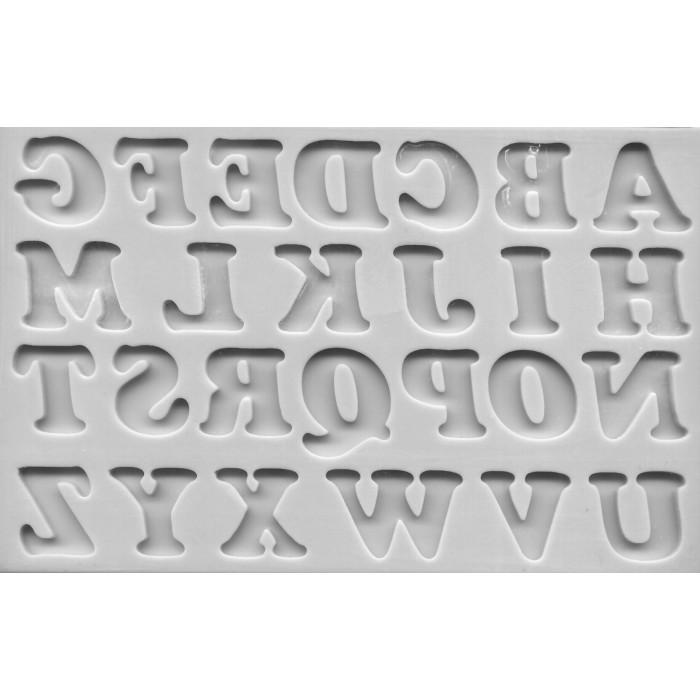 Stampo in silicone alfabeto e numeri