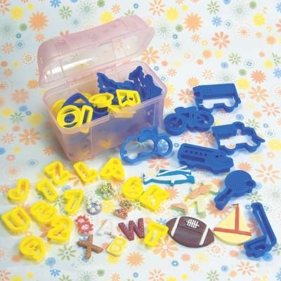 Bauletto alfabeto e numeri