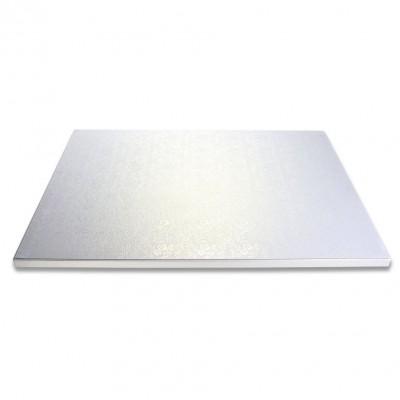 Vassoio quadrato argento