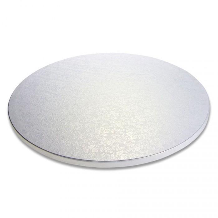 Vassoio rotondo argento