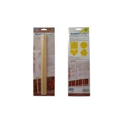 Pioli in bamboo per torte multipiano