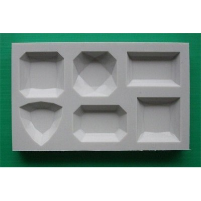 Stampo in silicone piccole gemme