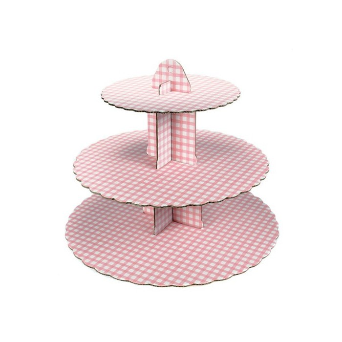 Alzata per cupcakes - rosa