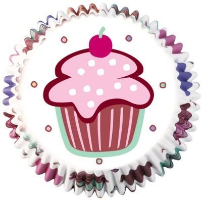 Mini pirottini per cupcake e muffin