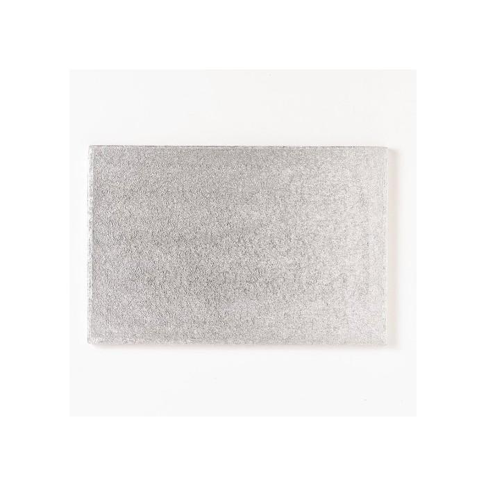 Vassoio quadrato argento (4 mm)