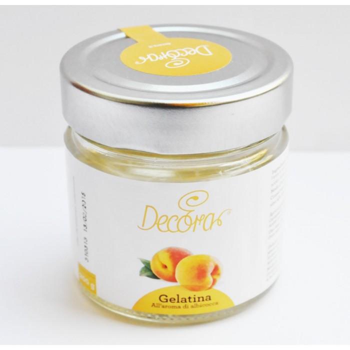Gelatina aroma albicocca Decora