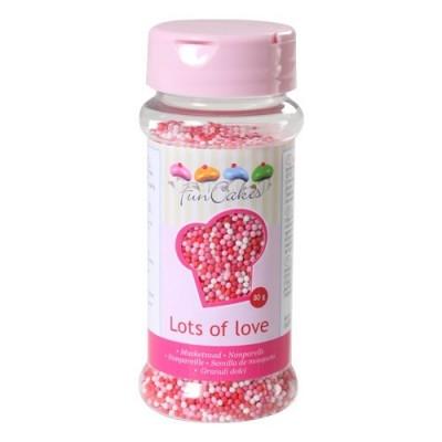Mini perle di zucchero FunCakes - mix