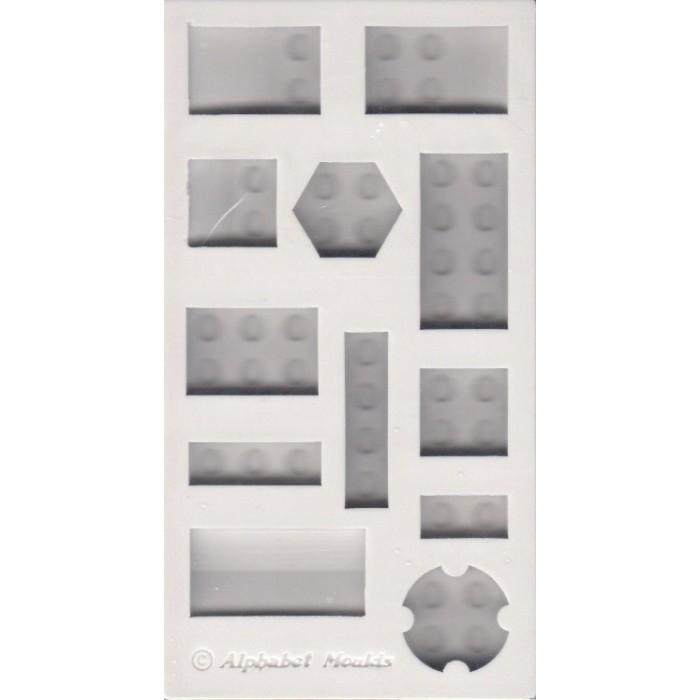 Stampo in silicone mattoncini