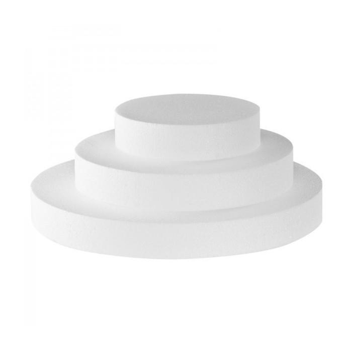 Base in polistirolo rotonda (h cm 5)