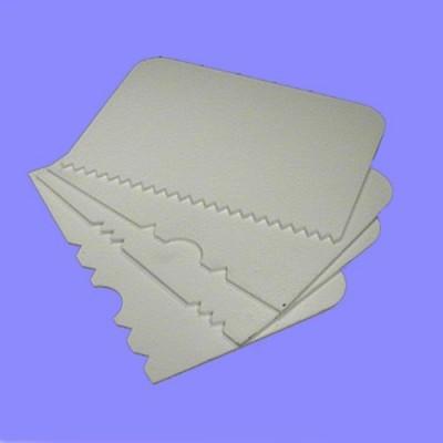 Set 4 spatole in plastica PME