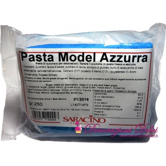 Pasta Model Saracino - azzurro