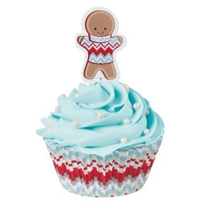 Pirottini combo per cupcake e muffin - ginger bread