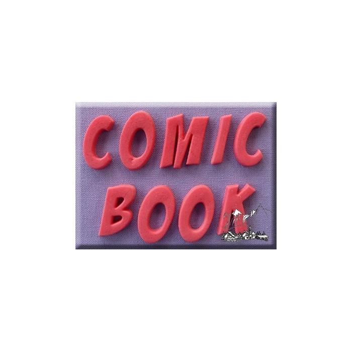 Stampo in silicone alfabeto Comic