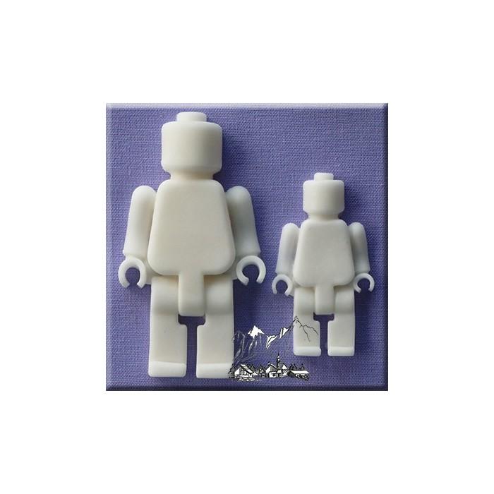 Stampo in silicone omini lego
