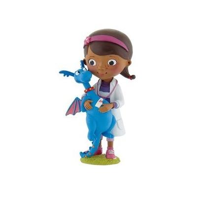 Statuine Dottoressa Peluche - Dottie con draghetto