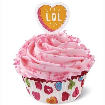 Pirottini combo San Valentino per cupcake