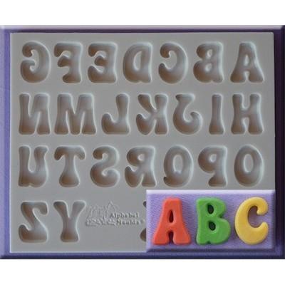 Stampo in silicone alfabeto Fun