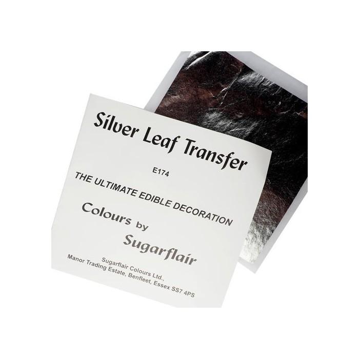 Foglia argento alimentare