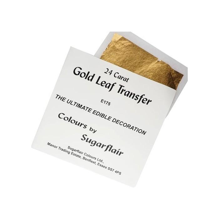 Foglia oro alimentare