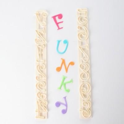 Tagliapasta alfabeto e numeri Funky
