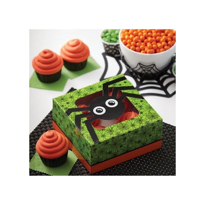 Scatole quadrate per cupcake e biscotti