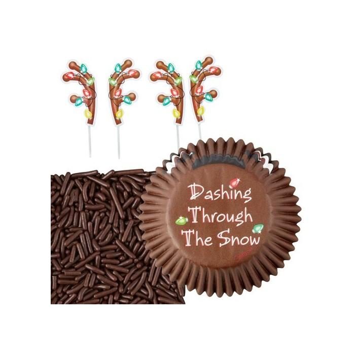 Kit pirottini natalizi per cupcake