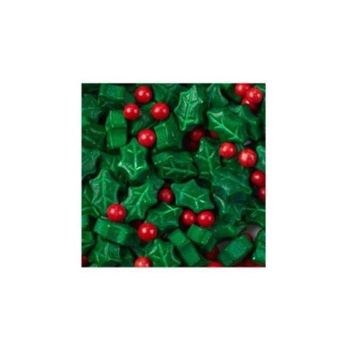 Confetti decorativi Natalizi - Agrifoglio