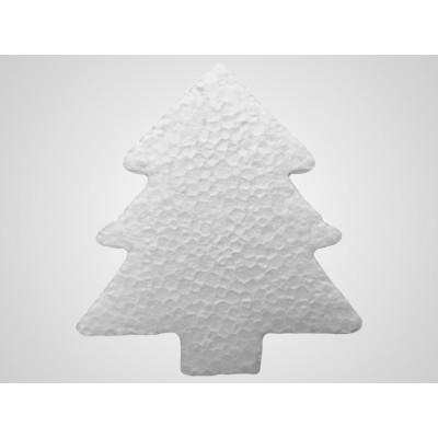 Mini decorazioni natalizie in polistirolo - albero