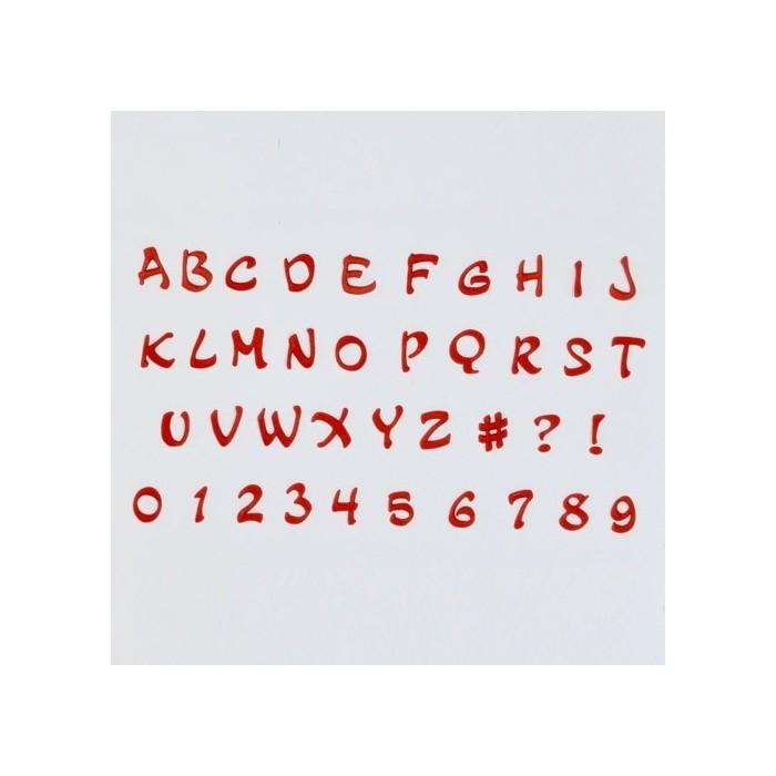 Tagliapasta alfabeto e numeri Magical
