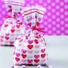 Sacchetti con cuori per dolcetti