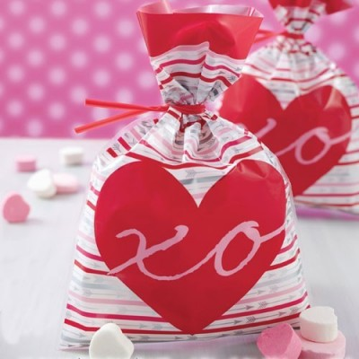 Sacchetti baci abbracci per dolcetti