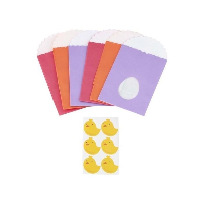 Sacchetti in carta con finestra a uovo