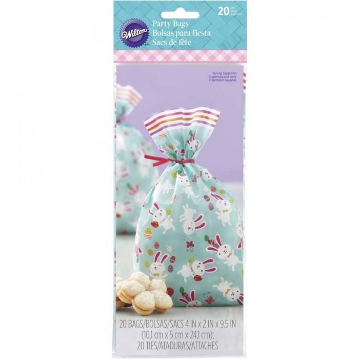 Sacchetti decorati con coniglietti