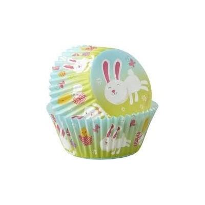 Pirottini con coniglietto per cupcake e muffin