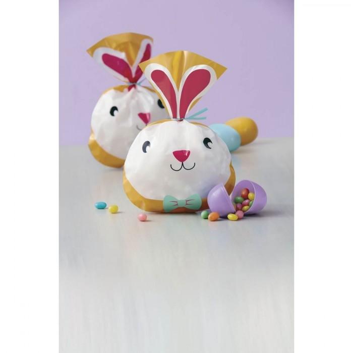 Sacchetti tondi viso coniglietto