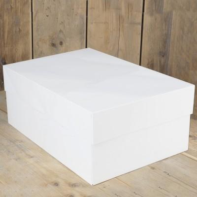 Scatola porta torta rettangolare