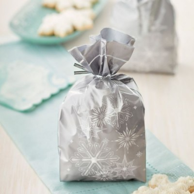 Sacchetti natalizi porta biscotti e dolcetti