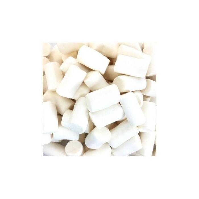 Marshmallow a tubo bianco