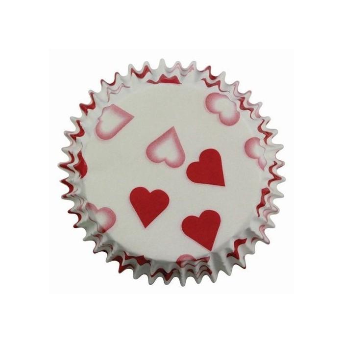 Pirottini per cupcake e muffin - San Valentino