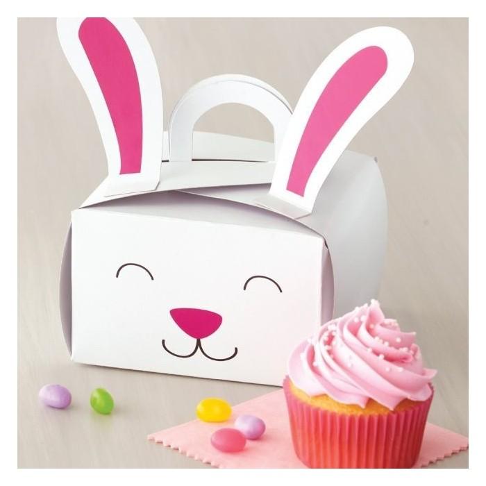 Scatole porta cupcake e biscotti per Pasqua