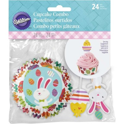 Pirottini a tema pasquale per cupcake e muffin