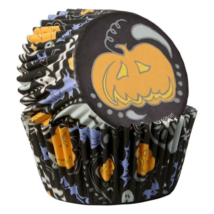 Pirottini Halloween per cupcake e muffin