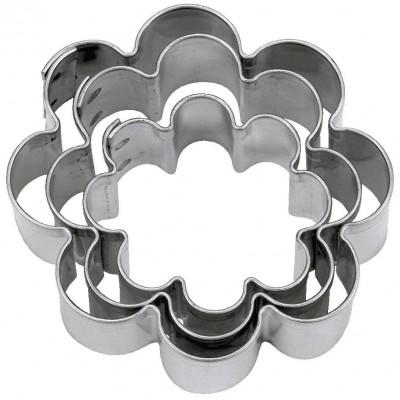 Tagliapasta a fiore in metallo