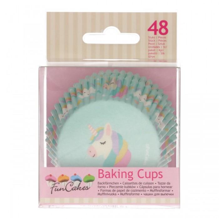 Pirottini unicorno per cupcake e muffin