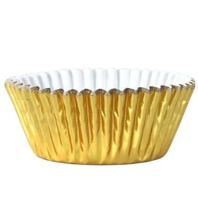 Pirottini metallizzati per cupcake e muffin