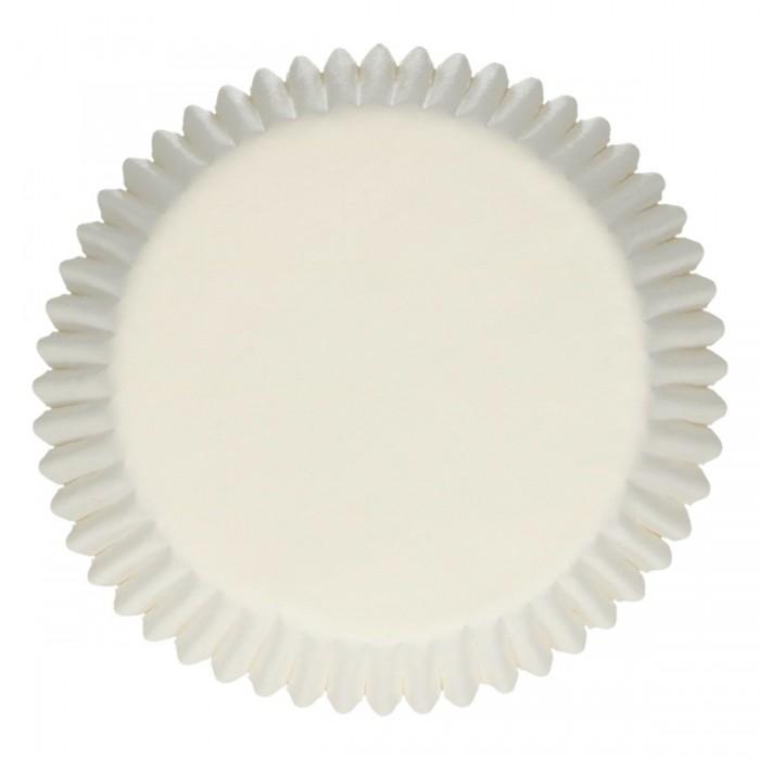Pirottini bianchi per cupcake e muffin