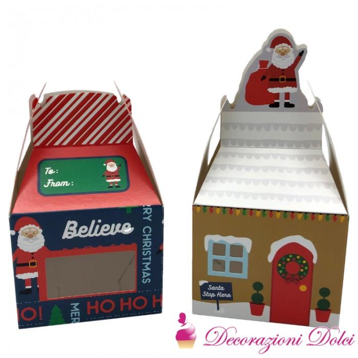 Scatole natalizie porta biscotti