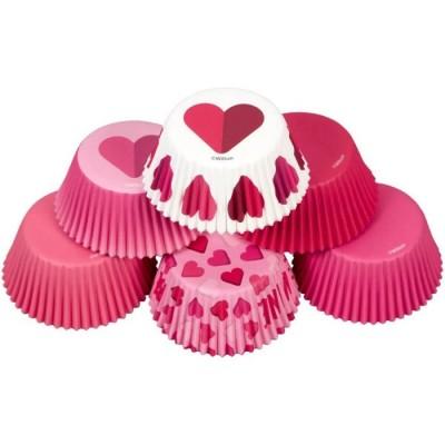 Pirottini San Valentino per cupcake e muffin