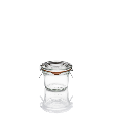 Vasetti Weck mini in vetro serie Droit - 80 ml