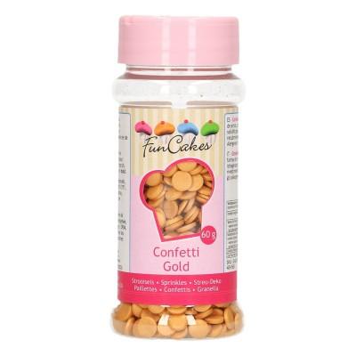 Zuccherini oro metallizzato